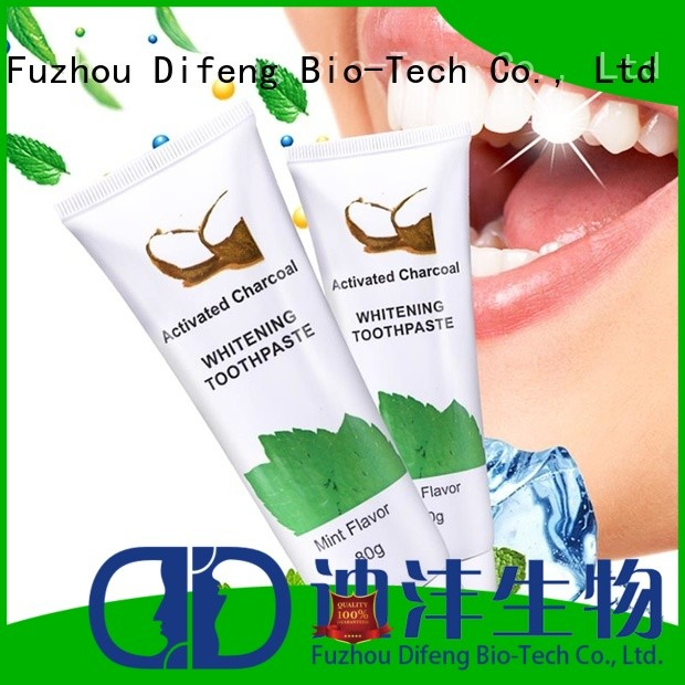 Difeng New top 5 whitening toothpaste Supply DentistDental beauty