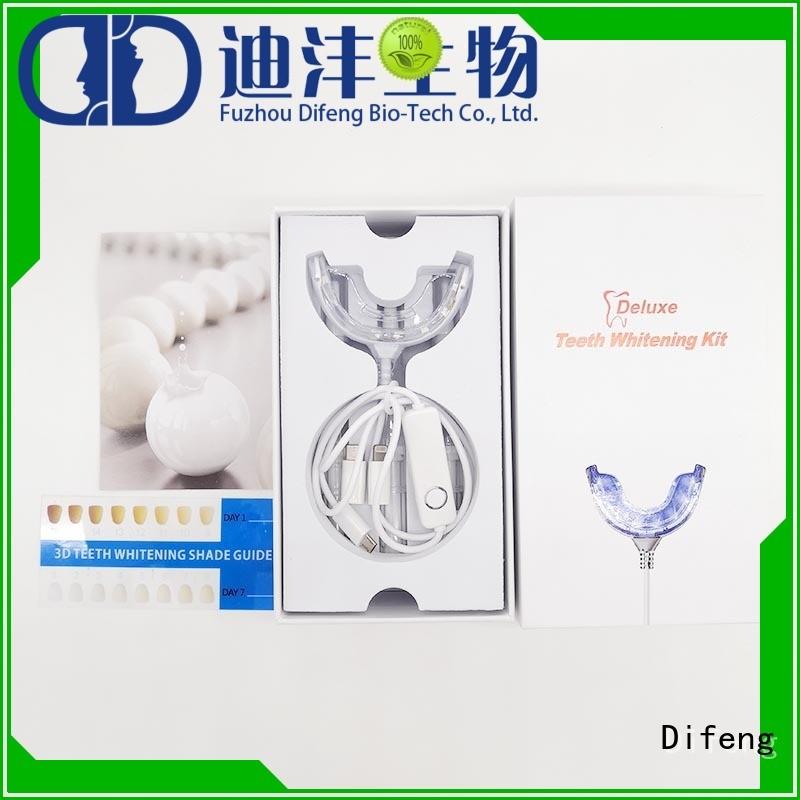 Difeng Custom sensitive teeth whitening kit for business DentistDental beauty