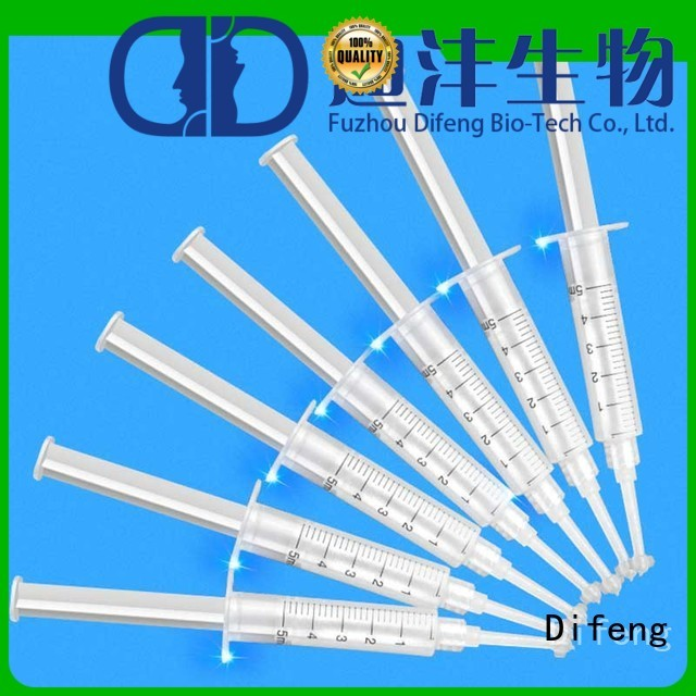 Difeng High-quality professional teeth whitening gel for business Oral Care