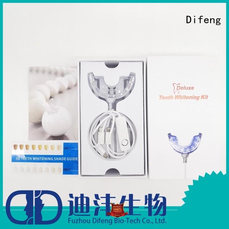 Difeng amazing teeth whitening kit company DentistDental beauty
