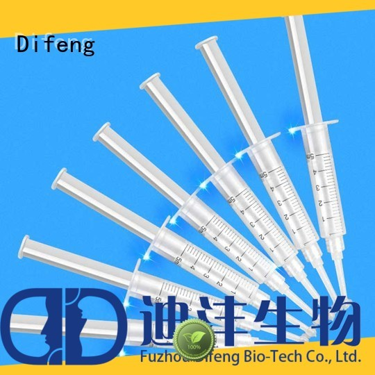 Difeng Wholesale teeth whitening replacement gel company DentistDental beauty