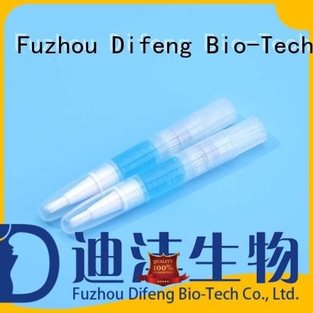 Difeng Best dentist teeth whitening gel Supply Oral Care