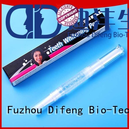 Difeng Latest bright white teeth pen Supply Oral Care
