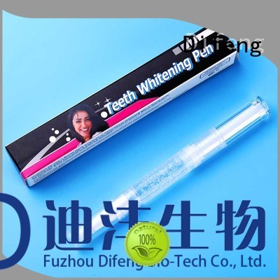 Difeng Best dazzling teeth whitening pen factory Oral Care