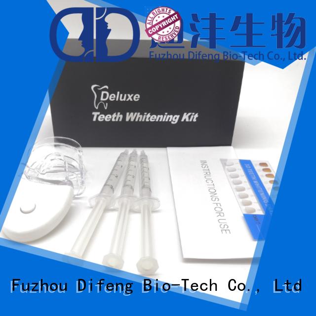 Difeng effective teeth whitening kits Supply Orthodontics